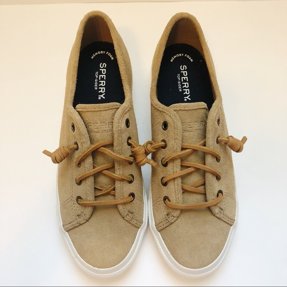 7f10a61813 Sperry Shoes | Sky Sail Platform Sneaker Top Sider Size 8 | Poshmark